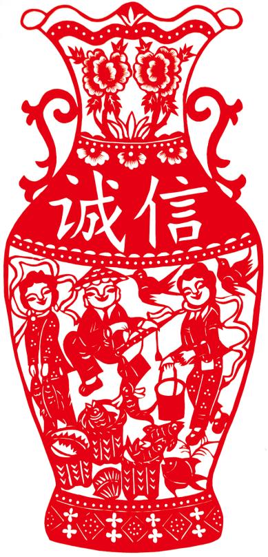 """巧手""""剪""""出创城情——记""""国际民间工艺美术家""""方桂凤"""